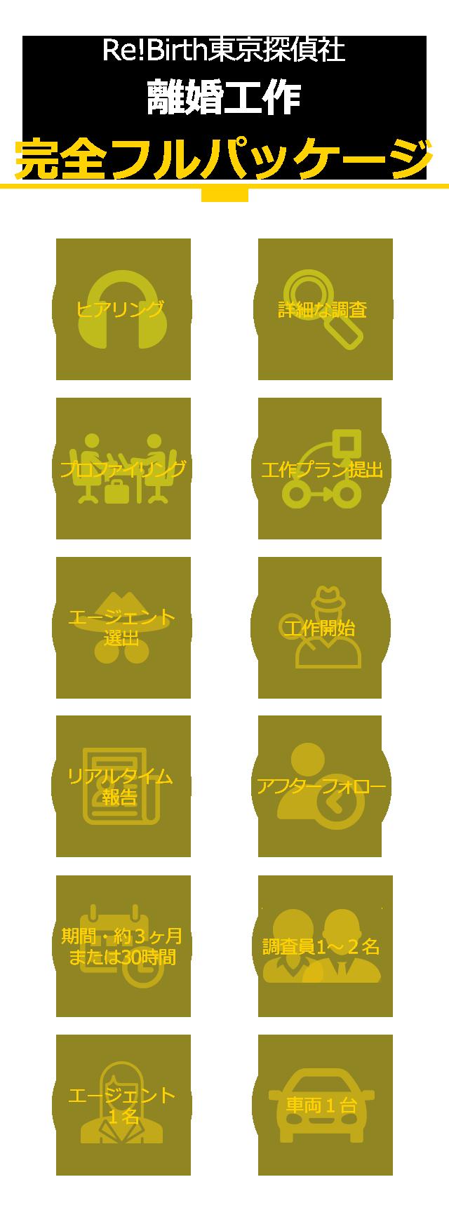 Re!Birth東京探偵社 離婚工作/完全フルパッケージ